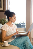Woman on laptop Royalty Free Stock Photo