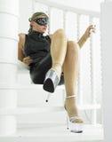 Woman in latex Stock Photos