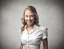 Woman Laugh Stock Image