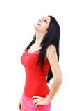 Woman laughing Royalty Free Stock Photos