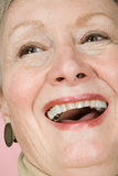 Woman laughing Royalty Free Stock Photography