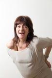 Woman laughing laugh Stock Photos