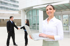 Woman Leader at Office Royalty Free Stock Images