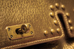 Woman leather bag Royalty Free Stock Images