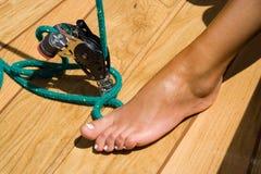 Woman leg Royalty Free Stock Photography