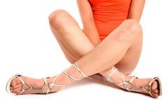Woman legs Stock Image