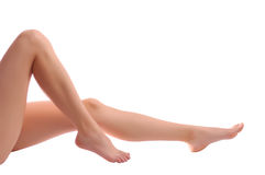 Woman legs Stock Image