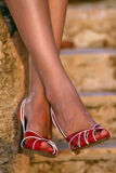 Woman legs Stock Photos
