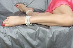 Woman legs adn feet Royalty Free Stock Photo