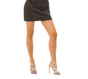 Woman legs in high heel shoes Royalty Free Stock Photos