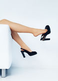 Woman Legs royalty free stock photography