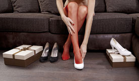 Woman legs Royalty Free Stock Photo