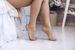 Woman legs Royalty Free Stock Images