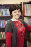 Woman in library Royalty Free Stock Images