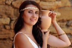 Woman like a Goddess Royalty Free Stock Image