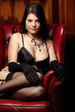 Woman in Lingerie Royalty Free Stock Images