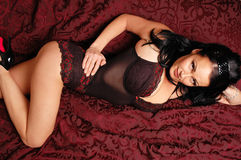 Woman in lingerie Royalty Free Stock Photo