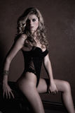 Woman in lingerie Royalty Free Stock Photos