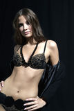 Woman in lingerie Stock Image