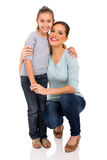 Woman little daughter Royalty Free Stock Photo
