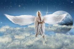 Angel in Heaven Stock Images