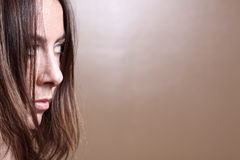 Woman looking away Royalty Free Stock Photography