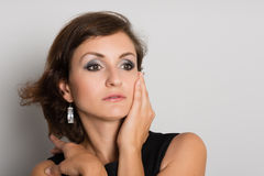 Woman looking away Royalty Free Stock Images