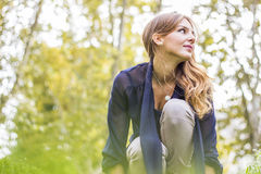 Woman looking away Stock Photos