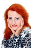 Woman looking at camera Stock Photo