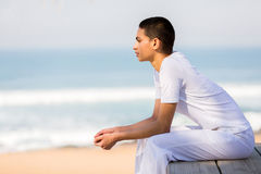 Woman looking into distance Royalty Free Stock Photo