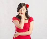 Woman Looking Sad Stock Image