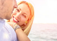 Woman in Love Stock Photography