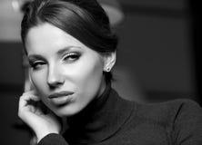 Woman.Luxury piękny styl Fotografia Stock