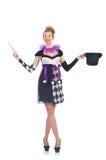 Woman magician Stock Photos