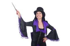 Woman magician Royalty Free Stock Photo