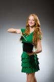 Woman magician wearing Royalty Free Stock Photos