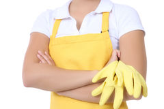 Woman Maid Royalty Free Stock Photography
