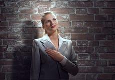 Woman make oath Royalty Free Stock Photo