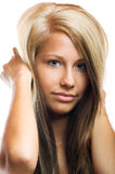 Woman without make up Royalty Free Stock Photography