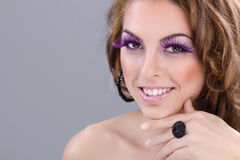 Woman make up concept Royalty Free Stock Image