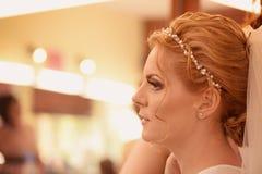 Woman in make-up studio Stock Photo
