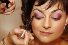 Woman makeup Royalty Free Stock Image