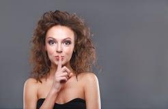Woman with makeup Stock Image