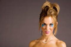 Woman in makeup Stock Photos