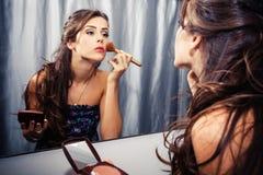 Woman makeup Royalty Free Stock Images