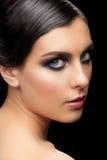 Woman with makeup Stock Photos