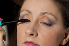 Woman makeup Royalty Free Stock Photos