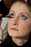 Woman makeup Stock Photography