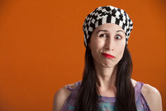 Free Woman Making Faces Royalty Free Stock Image - 18629326