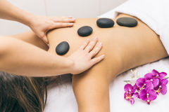 Woman Making Massages Royalty Free Stock Photography